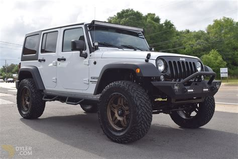 white jeep 2016 2016 jeep wrangler suv for sale 1644 dyler