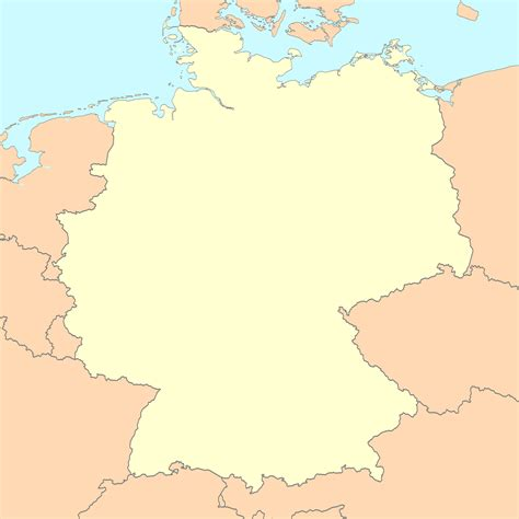 map germnay file germany map blank png