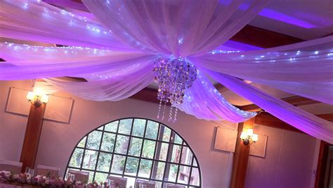 ceiling drapes wedding decorations ceiling drapes wedding services