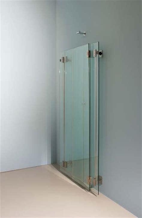 box doccia pieghevole cabina doccia pieghevole in acciaio e cristallo idfdesign