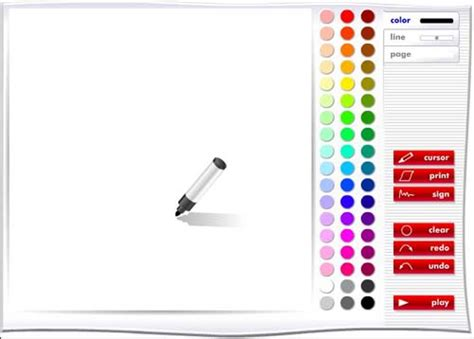 design tools online drawing and painting online cool media