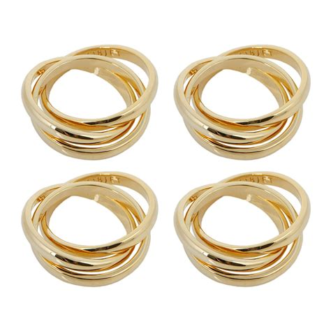 3 In 1 Rings buy l objet 3 ring napkin rings set of 4 amara