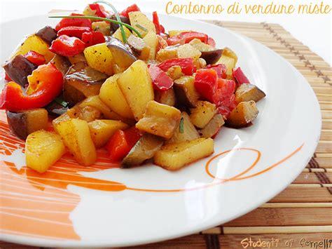 cucinare verdure dietetiche contorno di verdure miste saporite in padella ricetta