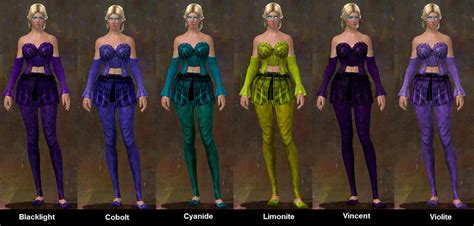 guild wars 2 dye gw2 toxic dyes mantles and gloves in the gemstore dulfy