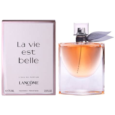lancome la vie est belle eau de parfum  women  ml