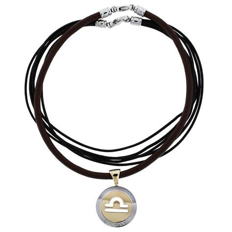 bulgari 18k two tone pendant on cord necklace boca raton