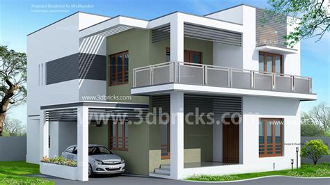 home design 3d balcony elevations of residential buildings in indian photo