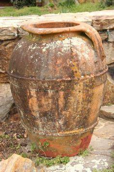 Garden Ridge Vase Antique Three Handle Terracotta Olive Jar