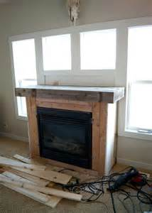 Shiplap Lumber Fireplace Makeover How To Plank A Fireplace Averie
