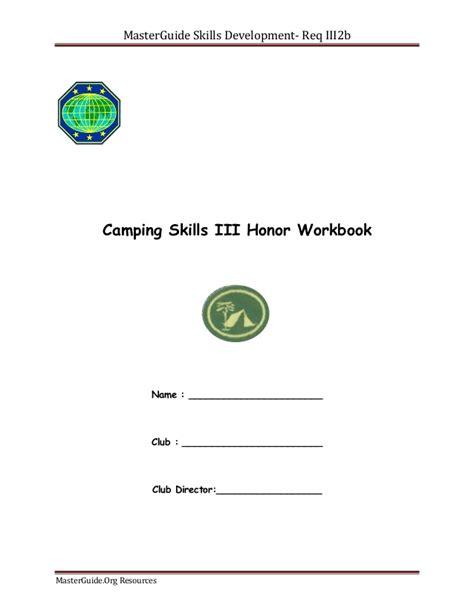 pathfinder honor worksheets free worksheets library