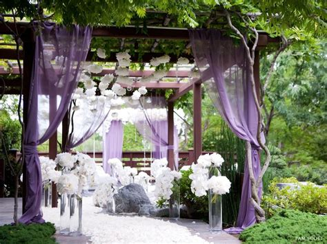 How To Decorate A Pergola For A Wedding by Lawn Garden Purple Free Standing Pergola Decor Indoor