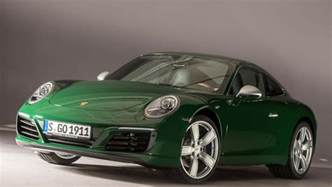 Home Design For 4 Cent irish green porsche 911 carrera s is the one millionth 911