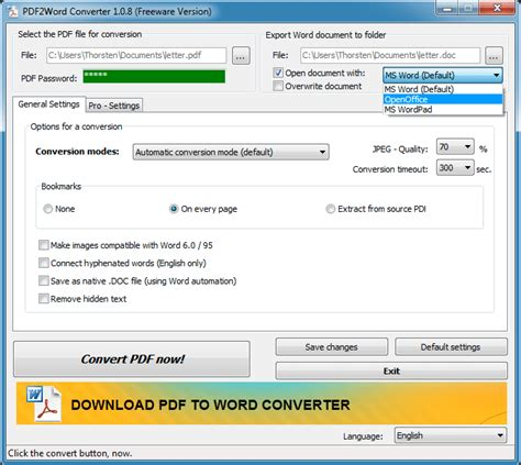 convert pdf to word hack download free hodes pdf to word converter by th hodes