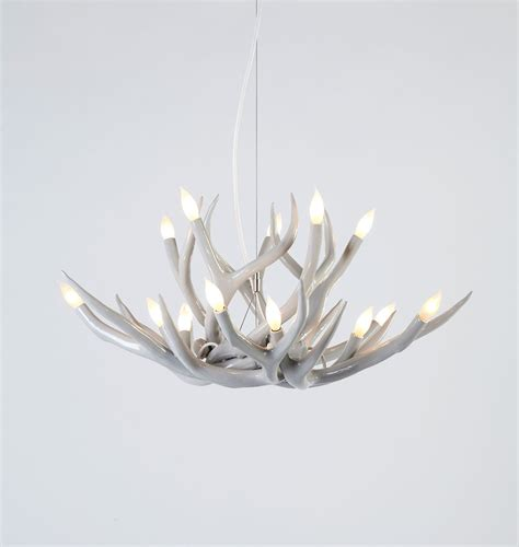 White Antler Chandelier White Antler Chandelier Homesfeed