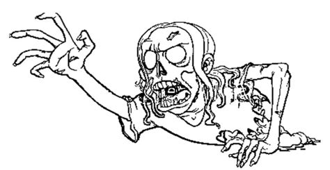 printable zombie pictures the scream of the zombie coloring pages zombie coloring