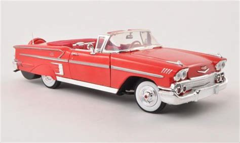 Miniatur Motor Diecast Ixo Montesa Impala 1 24 chevrolet impala convertible rojo 1958 motormax coches