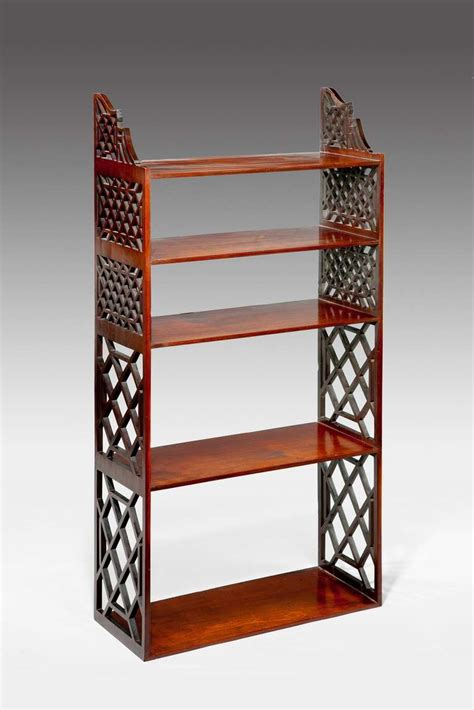 Chippendale Wall Shelf by A Pair Of Chippendale Period Mahogany Wall Shelves
