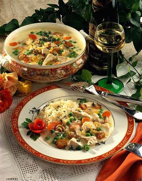 Unser Beliebtes Rezept F R H Hnerfrikassee Mit Reis Und