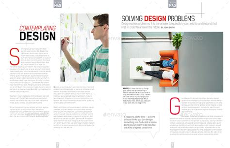 magazine layout cost per page magazine template indesign 40 page layout v7 by