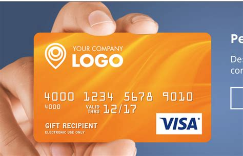 visa gift card template create your own credit card for your business images