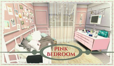 sims bedroom sims 4 pink bedroom dinha