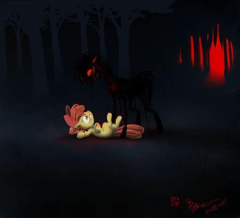 my horror apple bloom noooooooooo horror