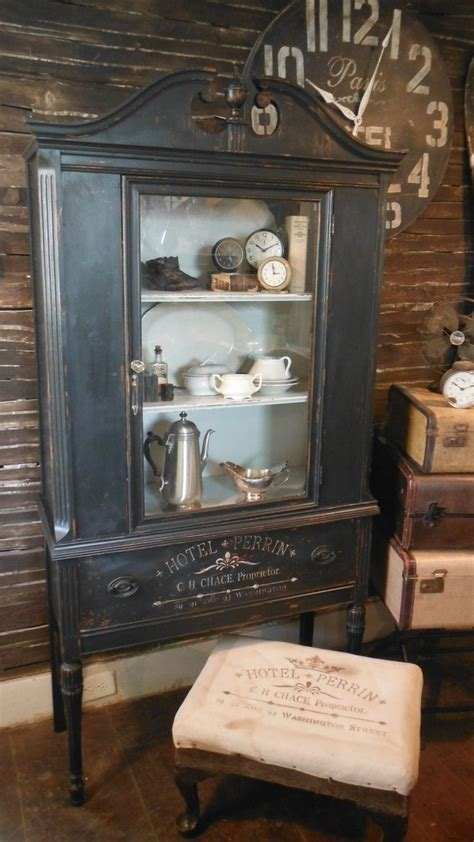 vintage black china cabinet best 25 china cabinet painted ideas on china