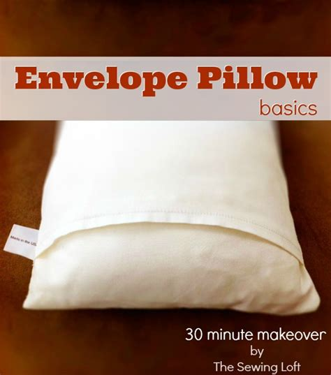 How To Make A Pillow Form by Pillow Form Insert Printable Size Chart The Sewing Loft