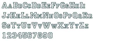 College Letter Jacket Font ge letter jacket font free truetype