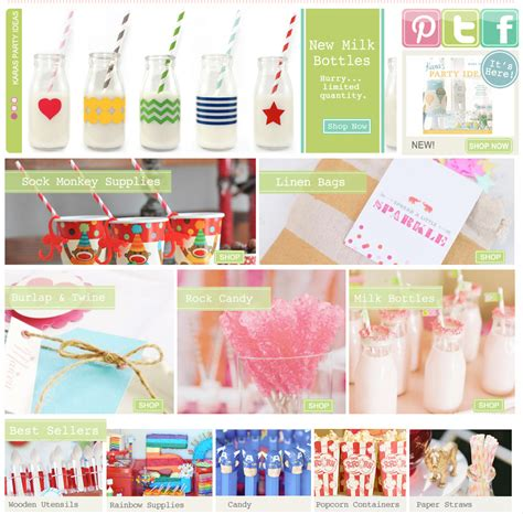 Party Giveaway Ideas - giveaway s kara s parties kids themed party products