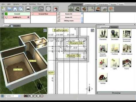 3d Home Design Livecad Tutorials by 3d Home Design By Livecad Tutorials 02 Creating Rooms