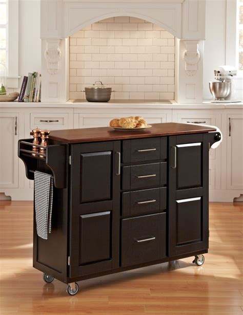 home styles nantucket maple kitchen island with seating home styles nantucket black kitchen island with seating