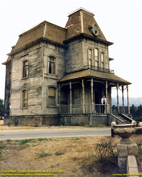 bates motel house universal s bates harvey house of psycho fame seems to currently stand on flat