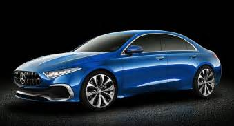 Concept Mercedes Mercedes Concept A Sedan Gets Rendered Into Production
