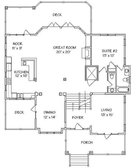 Classic Coastal House Plan 13128fl 2nd Floor Master Coastal Home Plans With Elevators