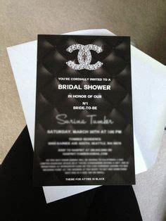 coco chanel wedding invitations our go to guide for the coco chanel bridal show