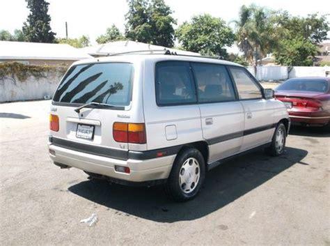 manual cars for sale 1994 mazda mpv transmission control buy used 1990 mazda mpv no reserve in orange california united states