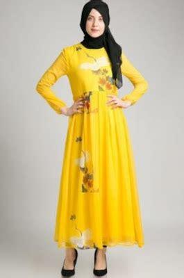 desain baju hc koleksi busana muslim motif terbaru tren masa kini