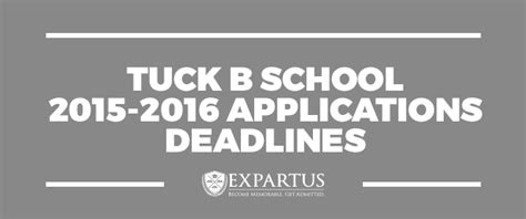 Tuck Mba Essays 2015 by Tuck Business School 2015 2016 Applications Deadlines