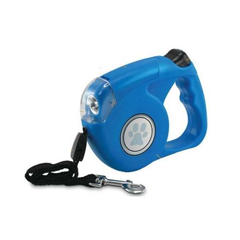 retractable dog leash with light retractable dog leash w light