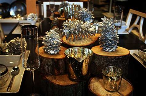 Silver Table Decorations by Black White And Silver Table Decorations