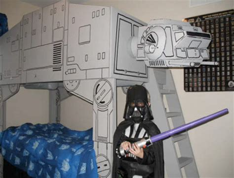 star wars bunk bed diy death star and darth vader blueprints geekologie