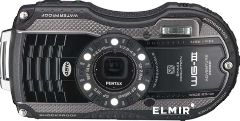 Kamera Pentax Optio Wg 3 Black pentax optio wg 3 black grey
