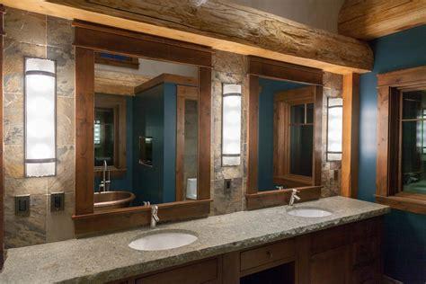 log home bathroom koshersamurai luxury log home laurie chriest interior design