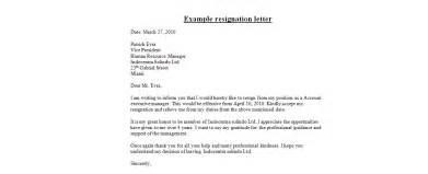 Resignation letter resignation email sample letter of resignation