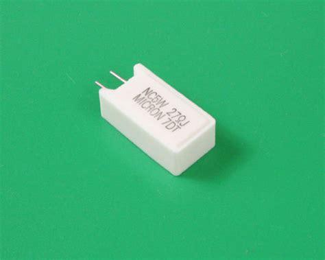 micron power resistors ssa5w 27 j micron resistor 27 ohm 5w 5 sand 2021012288