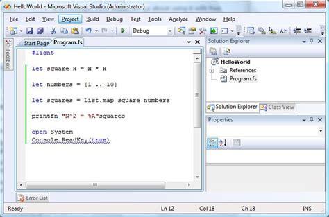 Ac Sharp Fu Y28e Y f programaci 243 n funcional en visual studio 2008