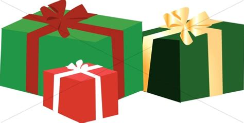 christmas present box clipart 51