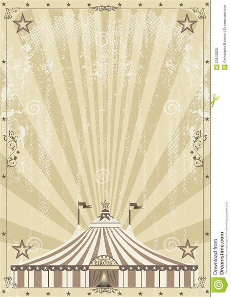 old circus grunge background stock vector image 23640320