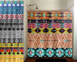 Matching Duvet And Curtain Sets Native American Art Navajo Aztec Maya Shower By Tablishedworks